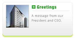 Greetings - A message from our President and CEO.